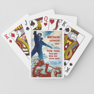 Britain expects that you_Propaganda Poster Card Deck