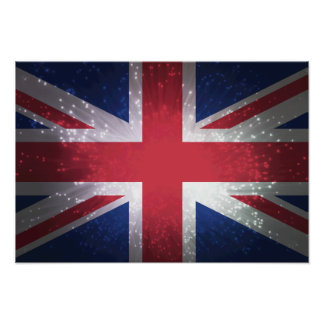 Britain Flag Posters