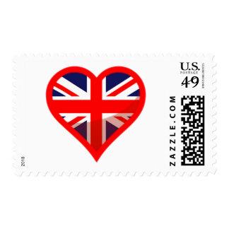Britain Love Postage Stamp