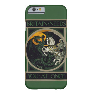 Britain Needs You At Once Knight & Dragon Barely There iPhone 6 Case
