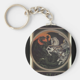 Britain needs you at once_Propaganda Poster Keychain
