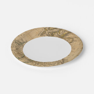 Britain Paper Plate