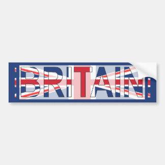 Britain, Union Jack design Car Bumper Sticker