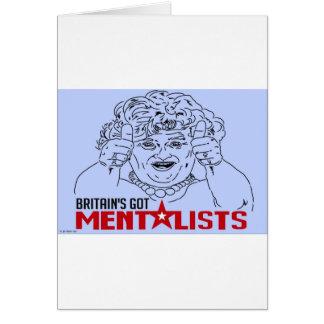 BRITAIN'S GOT MENTALISTS! CARD