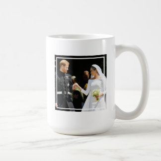 Britain's Prince Harry Duke of Sussex and his Wife Coffee Mug