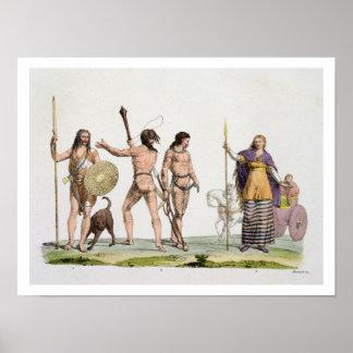 Británico, Caledonians, y reina Boadicea, placa 4 Poster