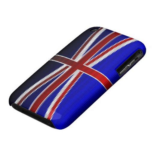Británico Case-Mate iPhone 3 Cobertura