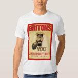 Británico: ¡Únase a al ejército de su país! Playera