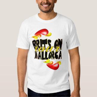 Británicos en la camiseta de Mallorca del viaje Playera