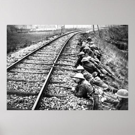 Británicos en Ypres Póster