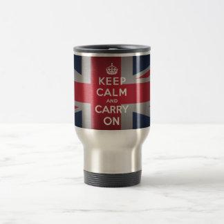Británicos guardan 15 onzas. Taza de la taza del