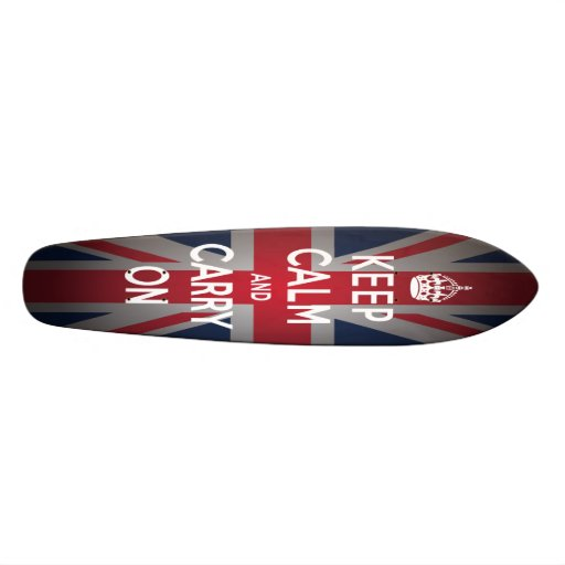 Británicos mantienen tranquilo para llevar el tablas de skate