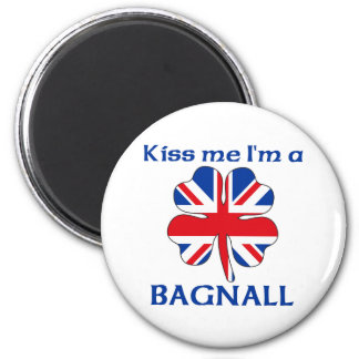 Británicos personalizados me besan que soy Bagnall Imán Para Frigorifico