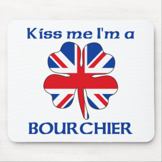 Británicos personalizados me besan que soy Bourchi Tapetes De Ratones
