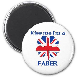 Británicos personalizados me besan que soy Faber Imán Redondo 5 Cm