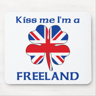 Británicos personalizados me besan que soy Freelan Tapete De Raton