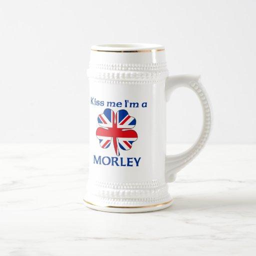 Británicos personalizados me besan que soy Morley Jarra De Cerveza