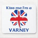 Británicos personalizados me besan que soy Varney Tapete De Ratones