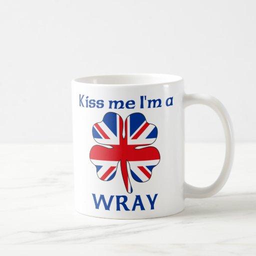 Británicos personalizados me besan que soy Wray Tazas