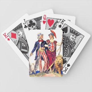 Britannia and Uncle Sam Card Deck
