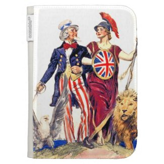 Britannia and Uncle Sam Cases For The Kindle