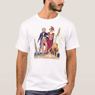 Britannia and Uncle Sam T-Shirt