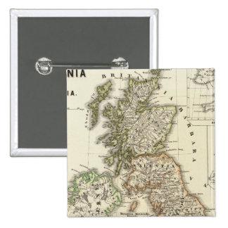 Britannia e Hibernia Pin Cuadrado