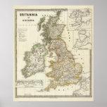 Britannia e Hibernia Posters