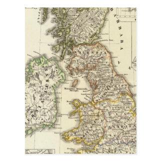 Britannia et Hibernia Postcard