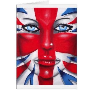 Britannia fresco tarjeta de felicitación