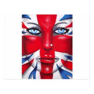 Britannia fresco tarjeta postal