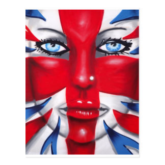 Britannia fresco tarjetas postales