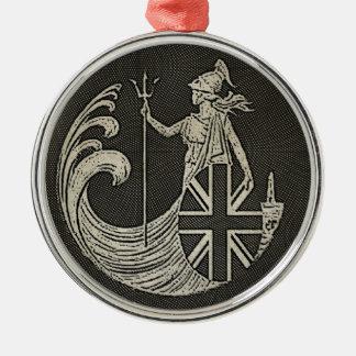 Britannia Metal Ornament