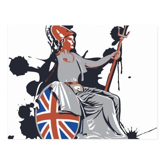 Britannia Postcard