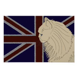 Britannia series: Kenzo Poster