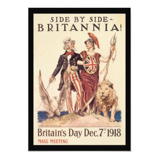 Britannia World War II Card