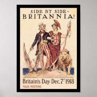 Britannia World War II Poster