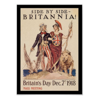 Britannia World War II Posters