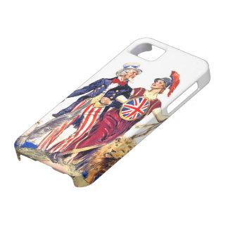 Britannia y tío Sam Funda Para iPhone SE/5/5s