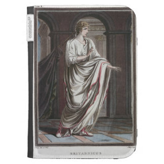 Britannicus, costume for 'Britannicus' by Jean Rac Kindle Keyboard Case