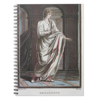 Britannicus, costume for 'Britannicus' by Jean Rac Notebook