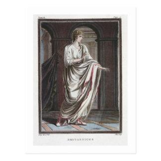 Britannicus, costume for 'Britannicus' by Jean Rac Postcard