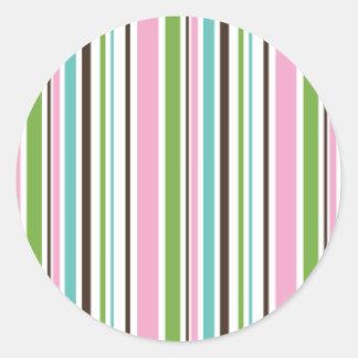 brite stripes sticker