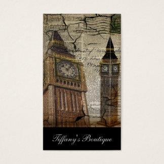 Britian England london clocktower big ben Business Card