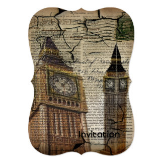 Britian England london clocktower big ben Card