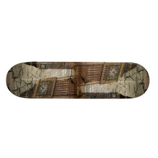 Britian England london clocktower big ben Skateboard Deck