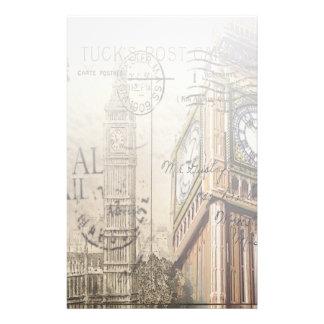 Britian England london clocktower big ben Stationery