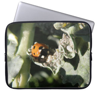 British 7 Spot Ladybug Laptop Bag