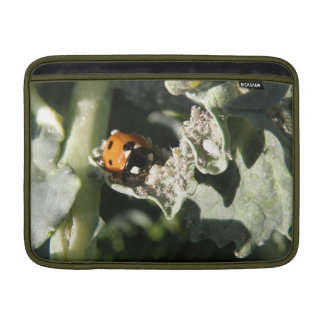 British 7 Spot Ladybug MacBook Air Sleeve