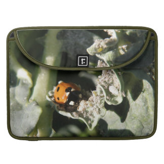 British 7 Spot Ladybug MacBook Pro Sleeve